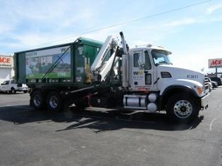 Waste Management Dumpster Truck