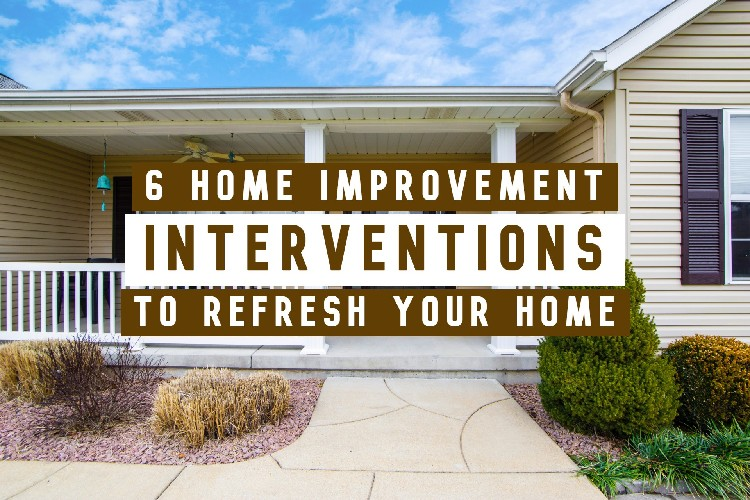 home improvement interventions refresh home title